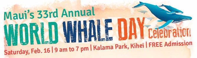 World Whale Day Banner