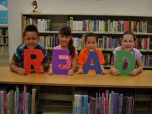free storytime for kids and keiki at the library