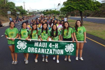 4-H program on Maui