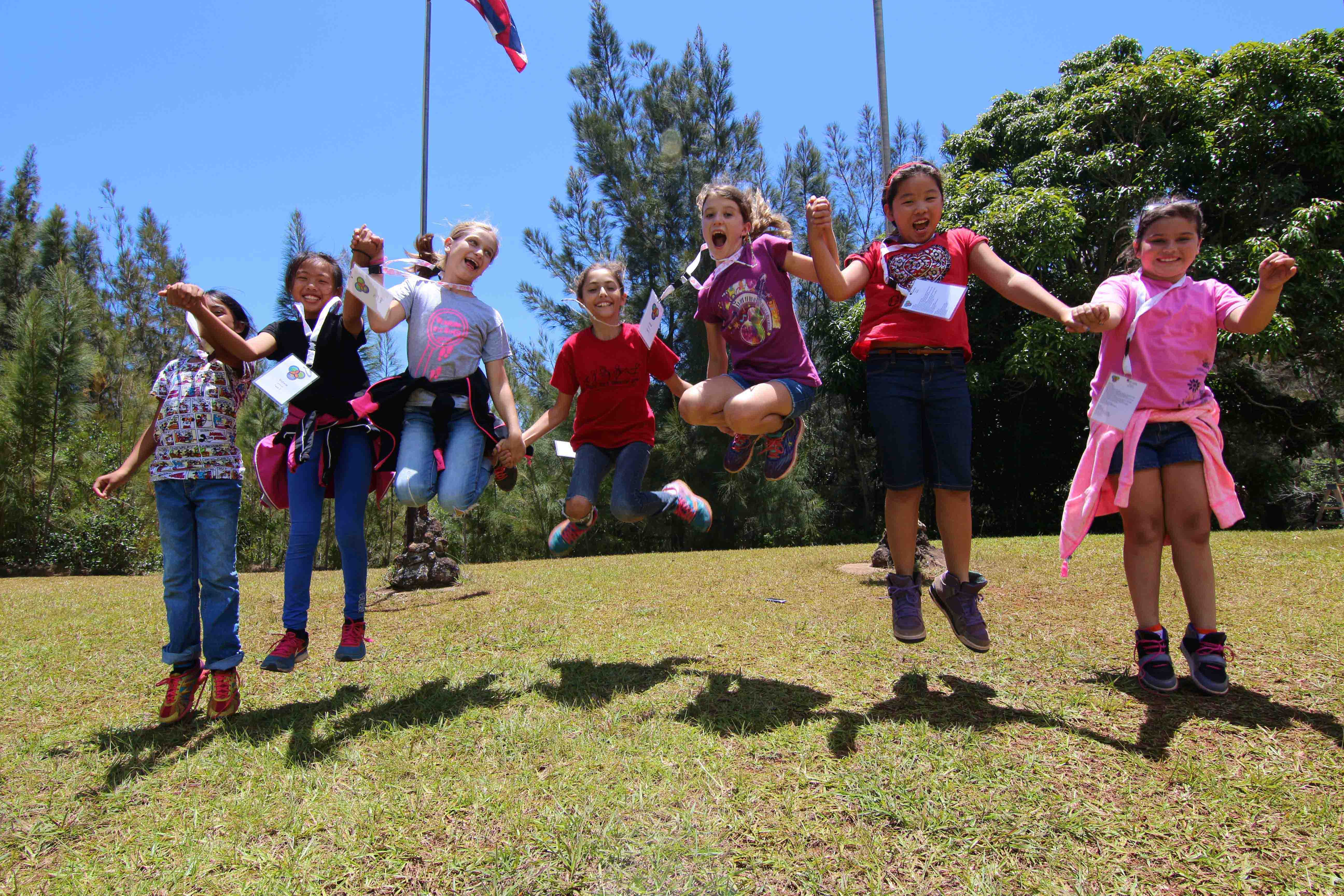 girl scouts of hawaii   maui family