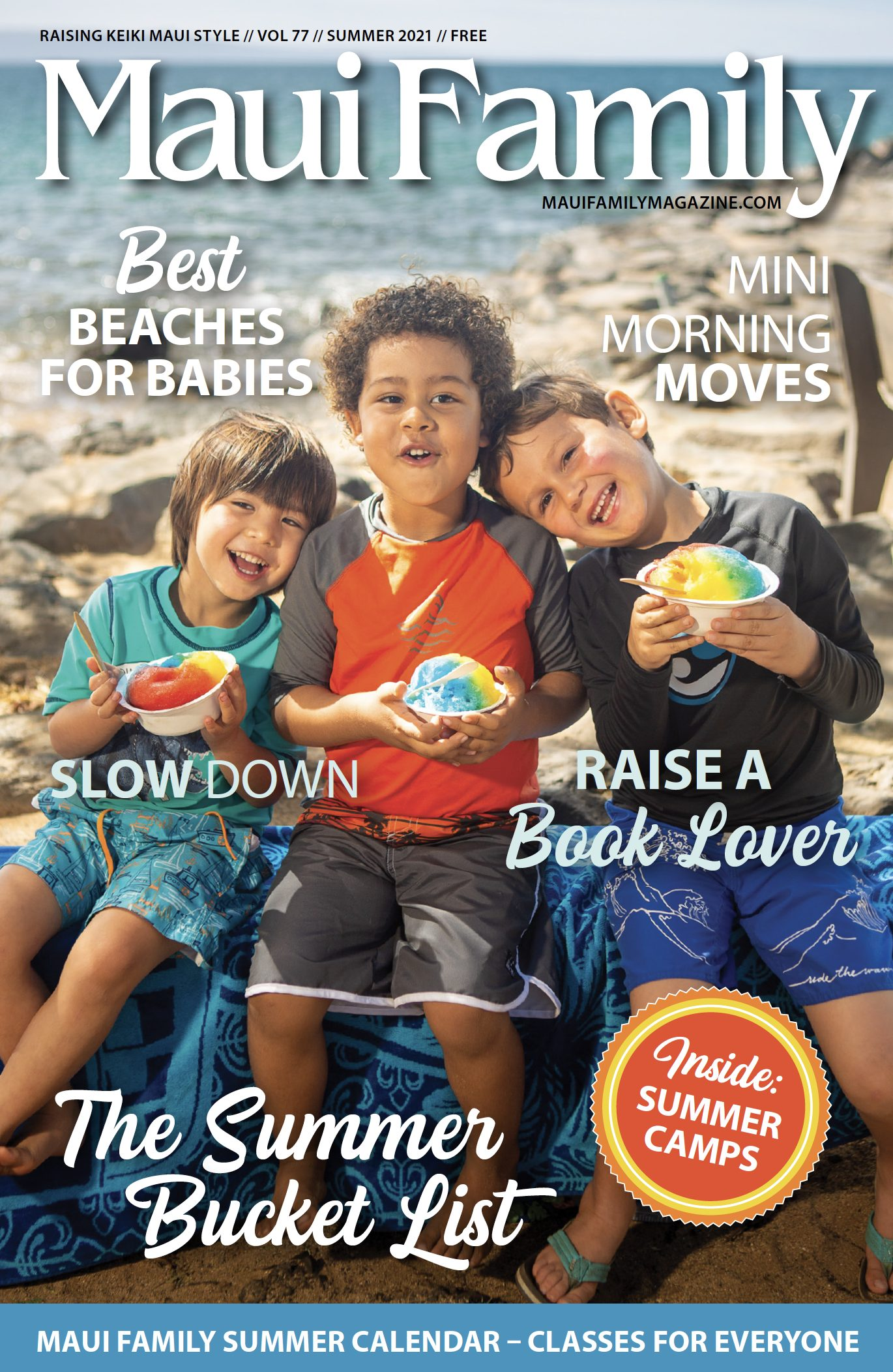 Maui Family Magazine Summer 2021